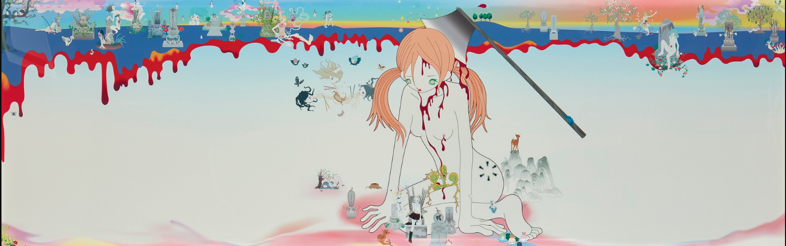 Chiho Aoshima-The Birth Of The Giant Zombie-2001