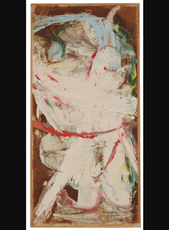Willem de Kooning-Kneeling Woman-1966