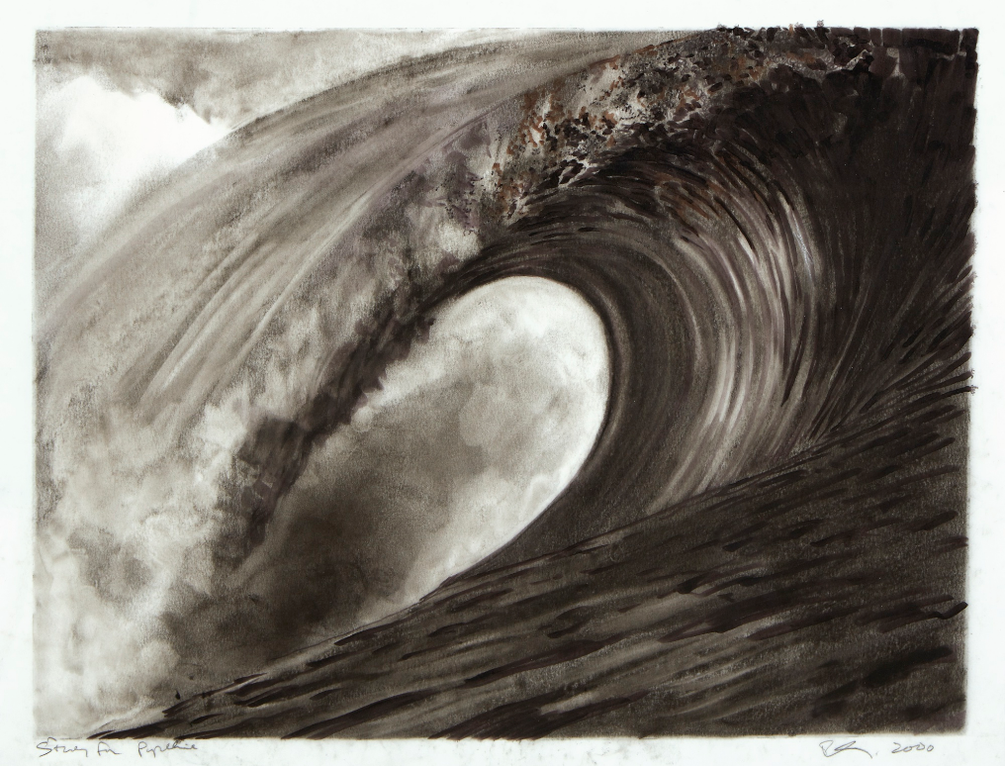 Robert Longo-Study For Pipeline-2000