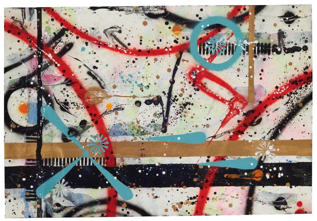 Rammellzee-Untitled (Magnetism)-1993