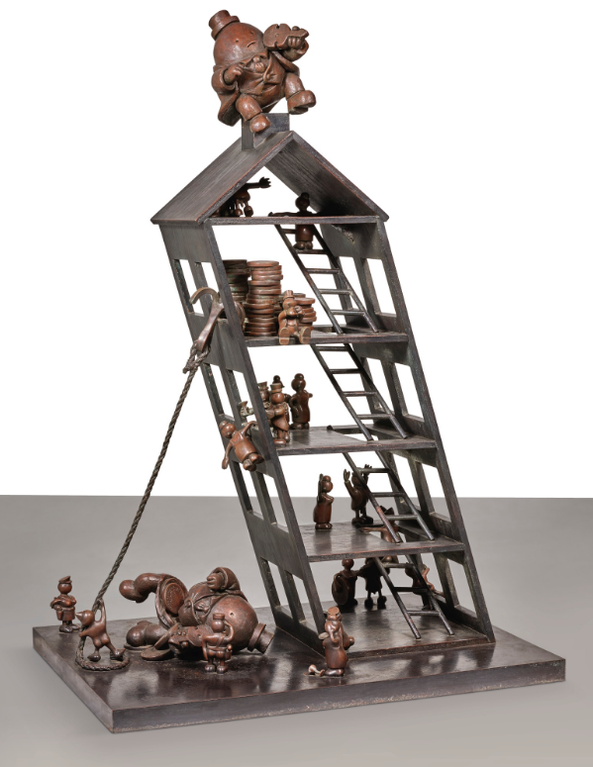 Tom Otterness-Neros Apartment House-1990