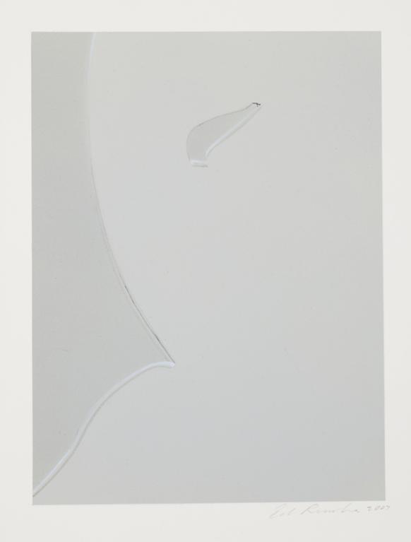 Ed Ruscha-Busted Glass #10-2007