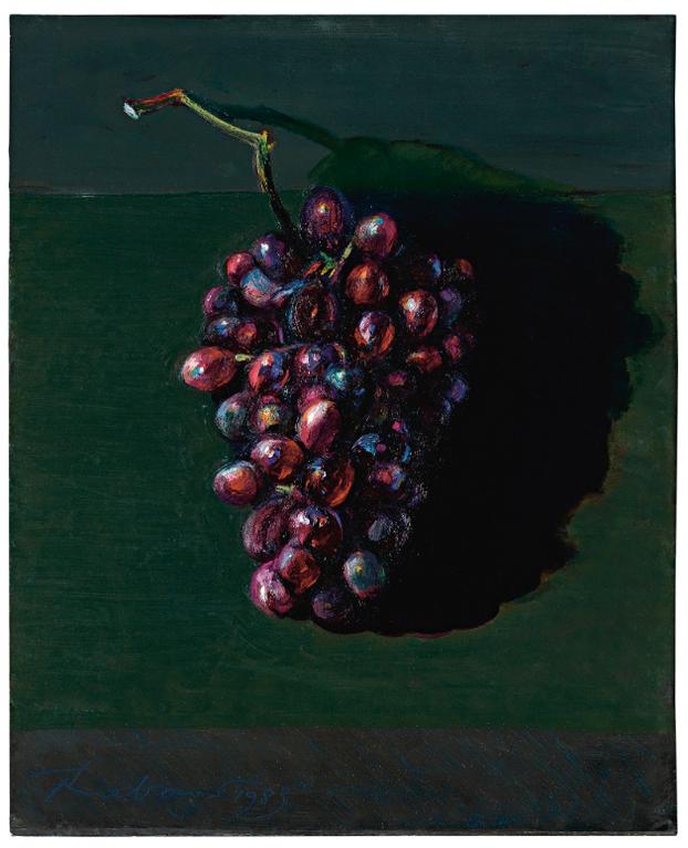 Wayne Thiebaud-Untitled-1983