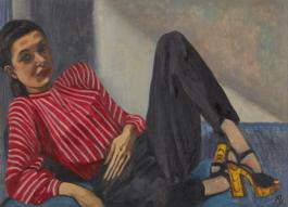Alice Neel-Connie-1945