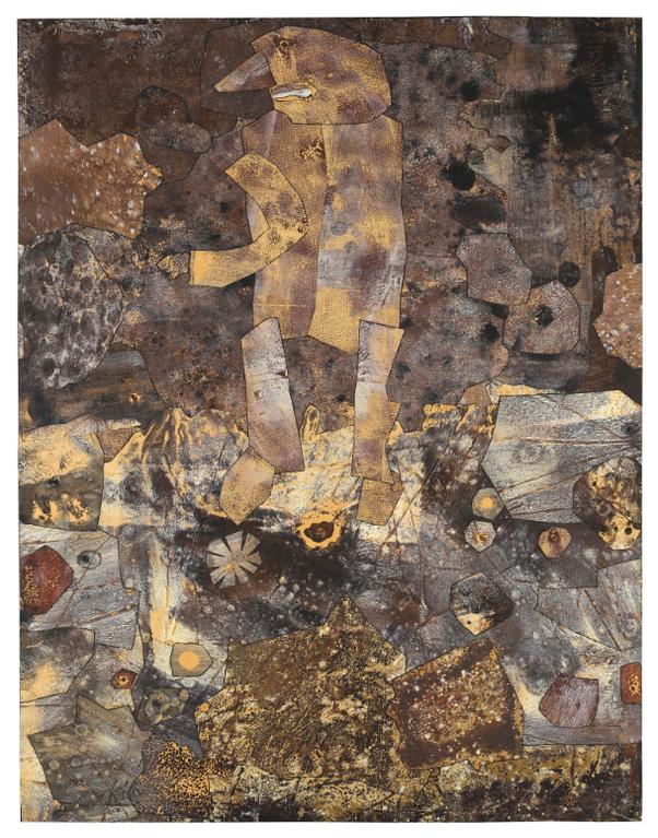 Jean Dubuffet-Lecraseur De Fleur-1959