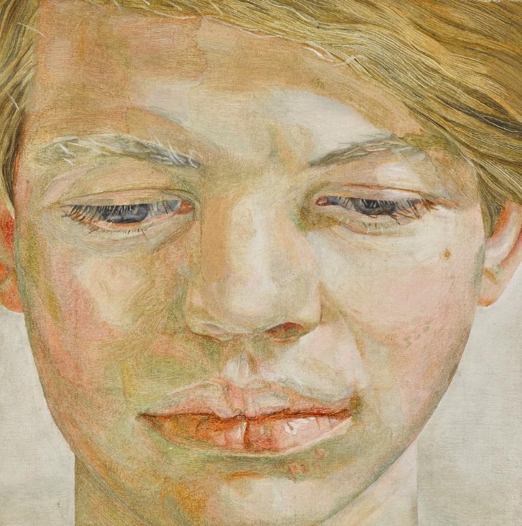 Lucian Freud-Head Of A Boy-1956