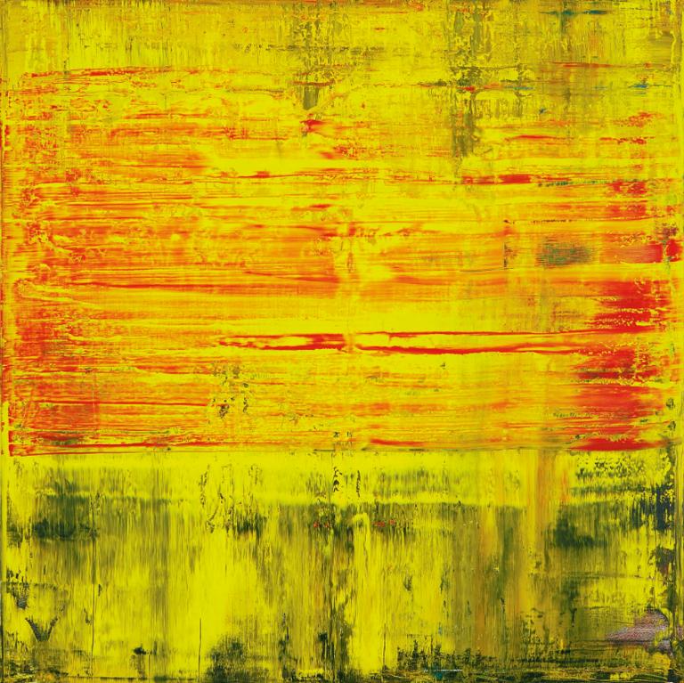 Gerhard Richter-Abstraktes Bild-2009