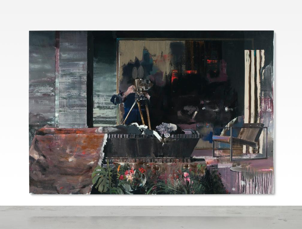 Adrian Ghenie-Duchamps Funeral I-2009