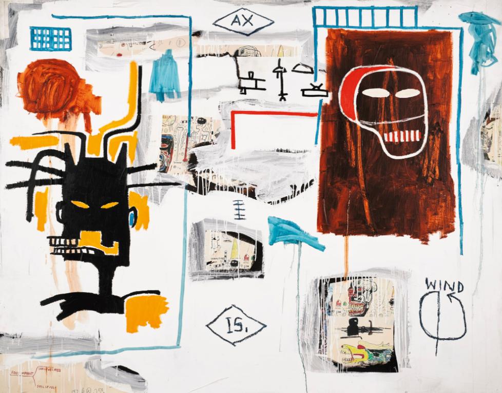 Jean-Michel Basquiat-Apex-1986