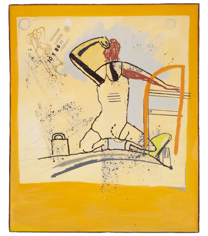Martin Kippenberger-Garota De Ipanema III (Girl From Ipanema III)-1986