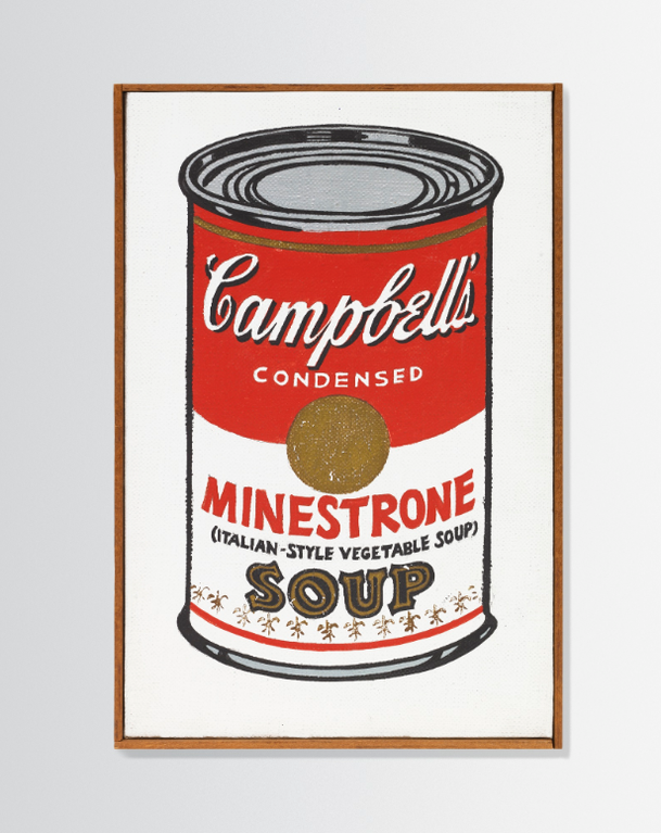 Andy Warhol-Little Campbells Soup Can (Minestrone)-1962
