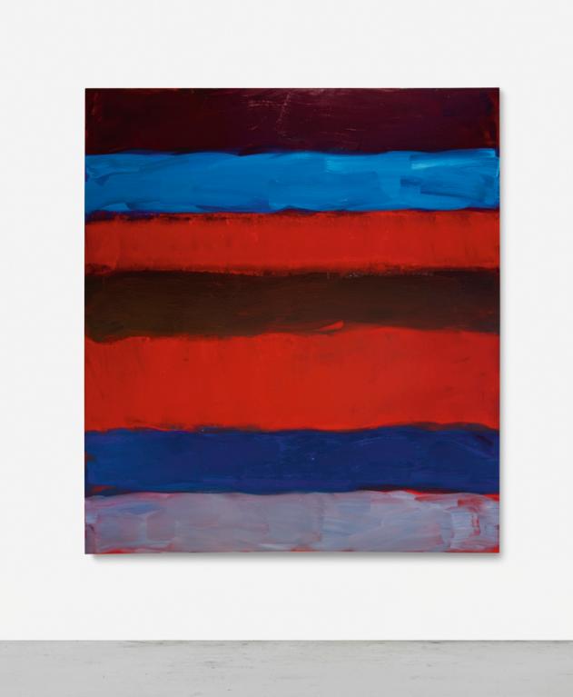 Sean Scully-Landline Red Blue-2015