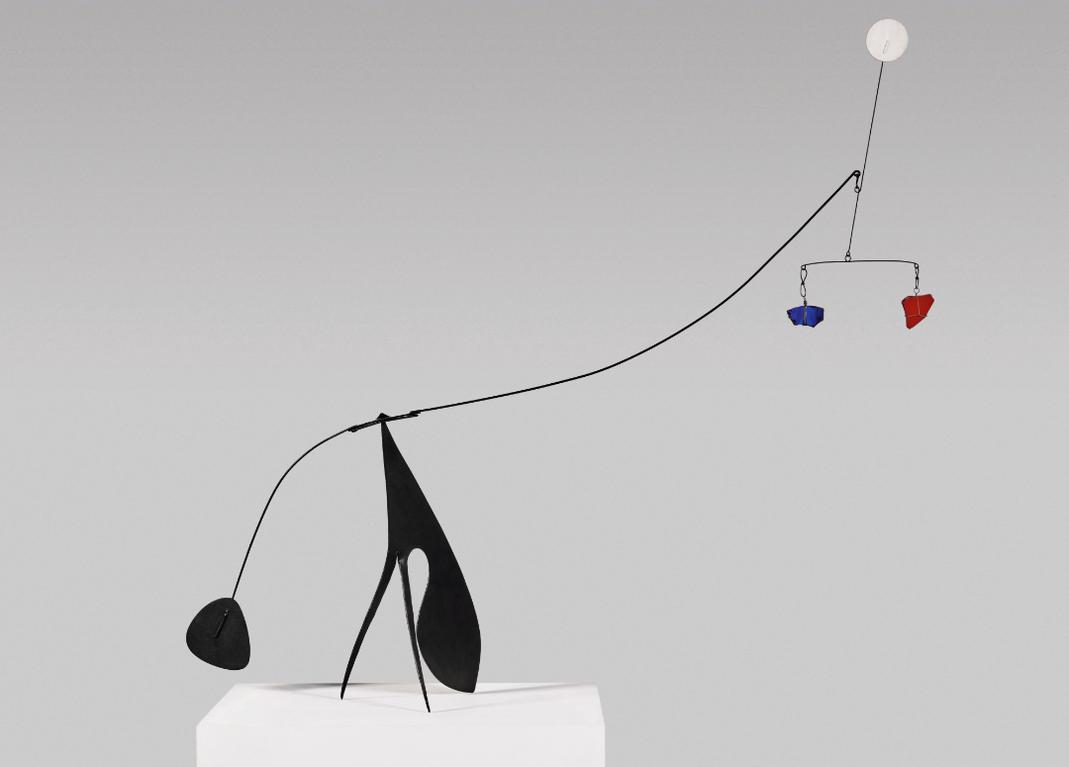 Alexander Calder-Glassy Insect-1953