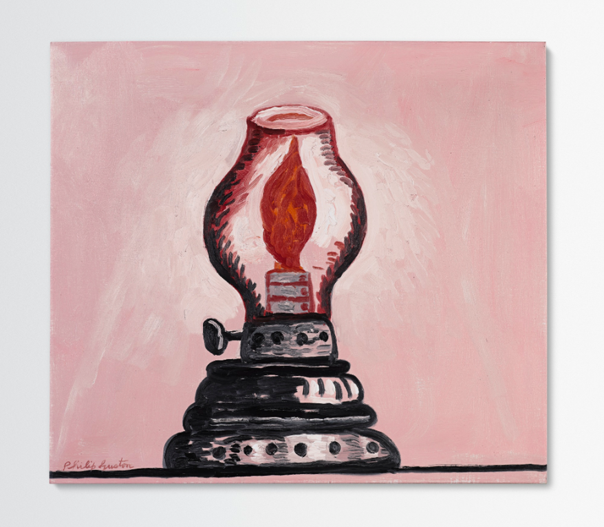Philip Guston-Lamp-1979
