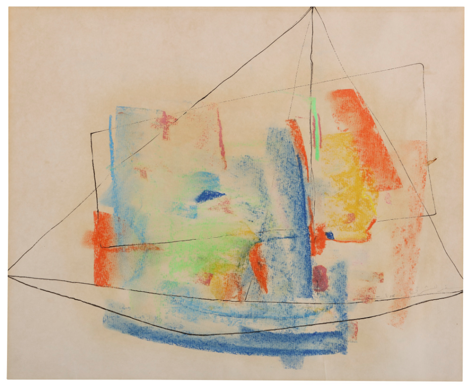 Etel Adnan-Journey To The East-1960