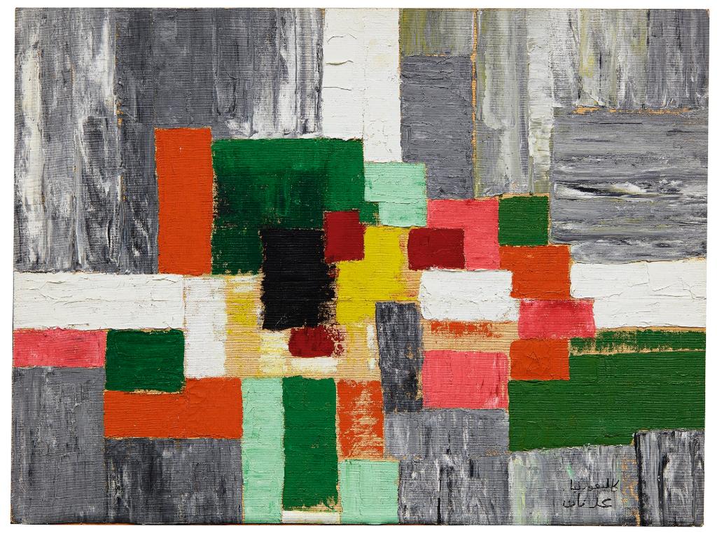 Etel Adnan-Untitled-1960