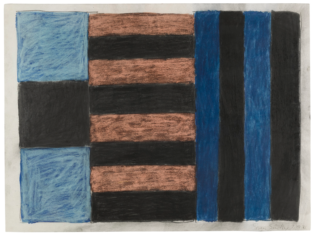 Sean Scully-Untitled (7.27.85)-1985