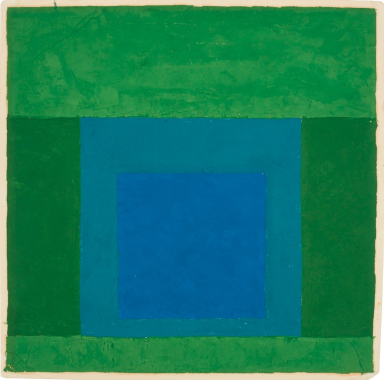 Josef Albers-Study For A Homage To The Square-1965