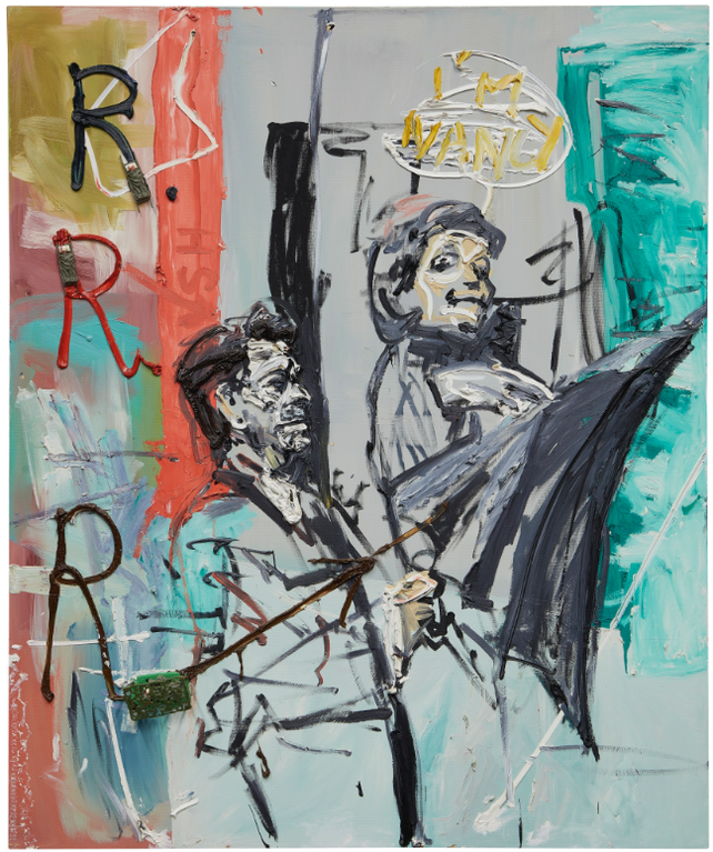 Martin Kippenberger-R.R.R. (Ronald Reagans Regenschirm)-1982