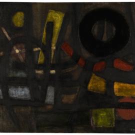 Fritz Winter-Verhaltenes Leuchten-1952