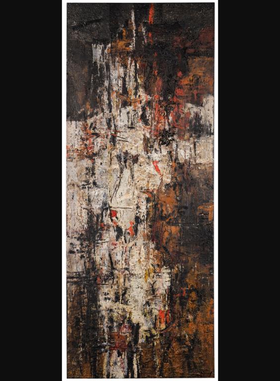 Karl Fred Dahmen-Ohne Titel (Materialbild)-1957