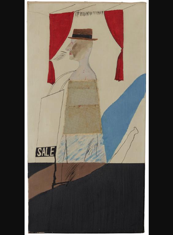 David Hockney-The Salesman-1963