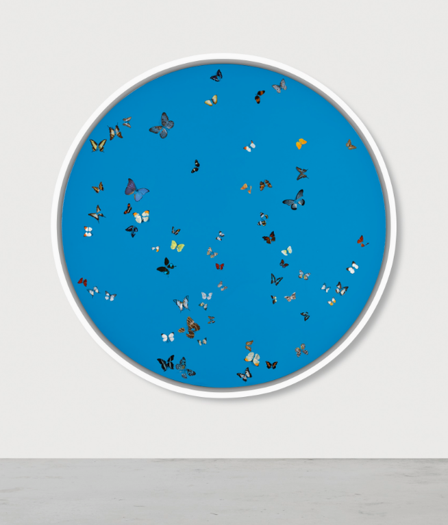 Damien Hirst-Lullaby In Blue-2005
