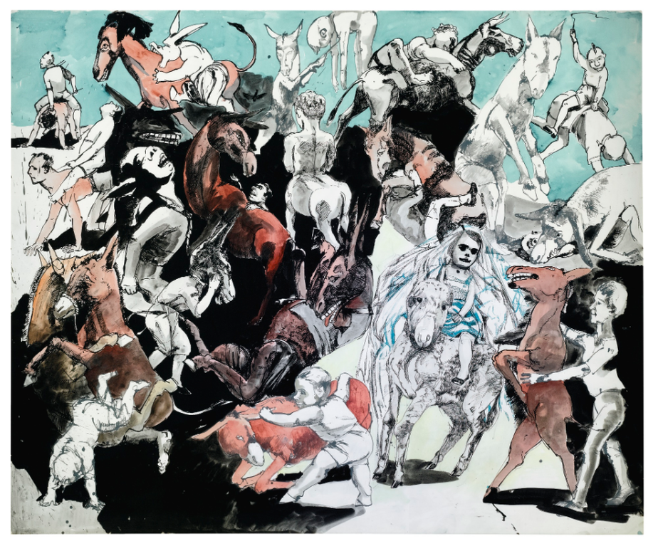 Paula Rego-Island Of The Lights From Pinocchio-1996
