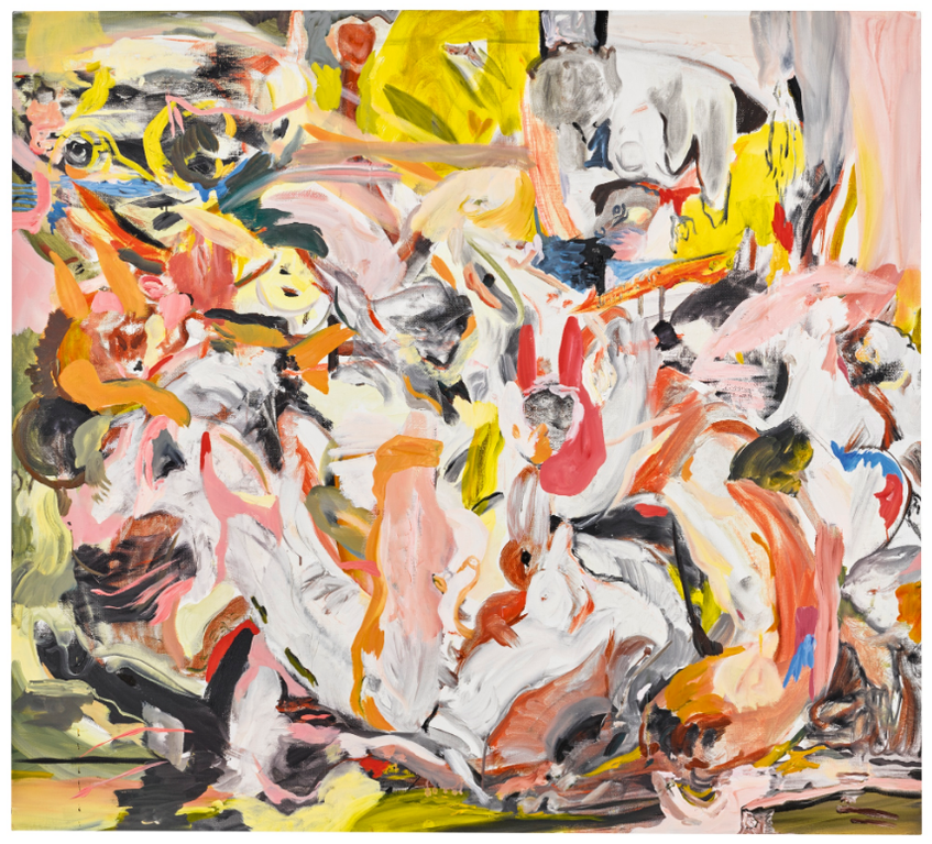 Cecily Brown-Chestnut And Snowball-2013