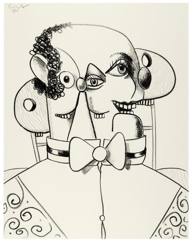 George Condo-Untitled-2009