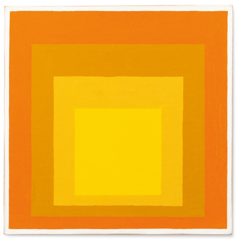 Josef Albers-Study For Homage To The Square: Allegro-1961