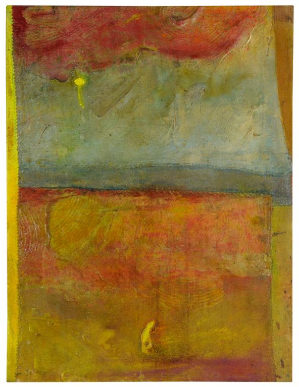 Frank Bowling-Baconsdog Yellowed-1999