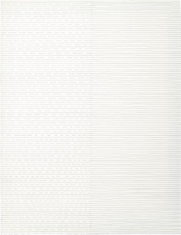 Sol LeWitt-Left: Straight And Broken Lines Right: Straight And Not Straight Lines-1972