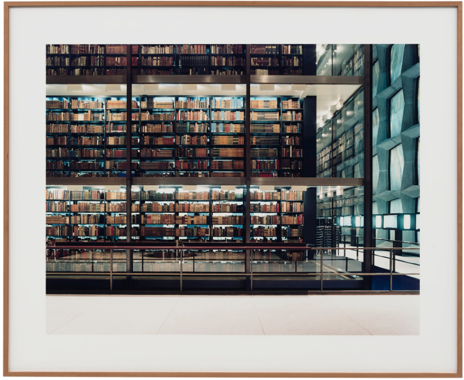 Candida Hofer-Beinecke Rare Book And Manuscript Library New Haven Ct I-2002