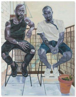 Jordan Casteel - Patrick And Omari-2015