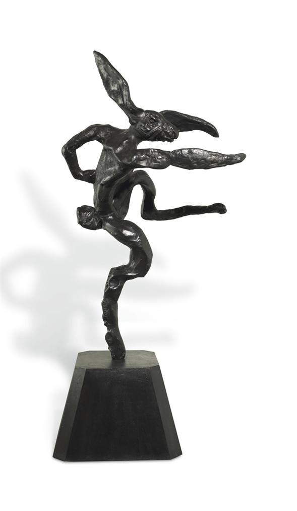 Barry Flanagan-Nijinski Hare-1989
