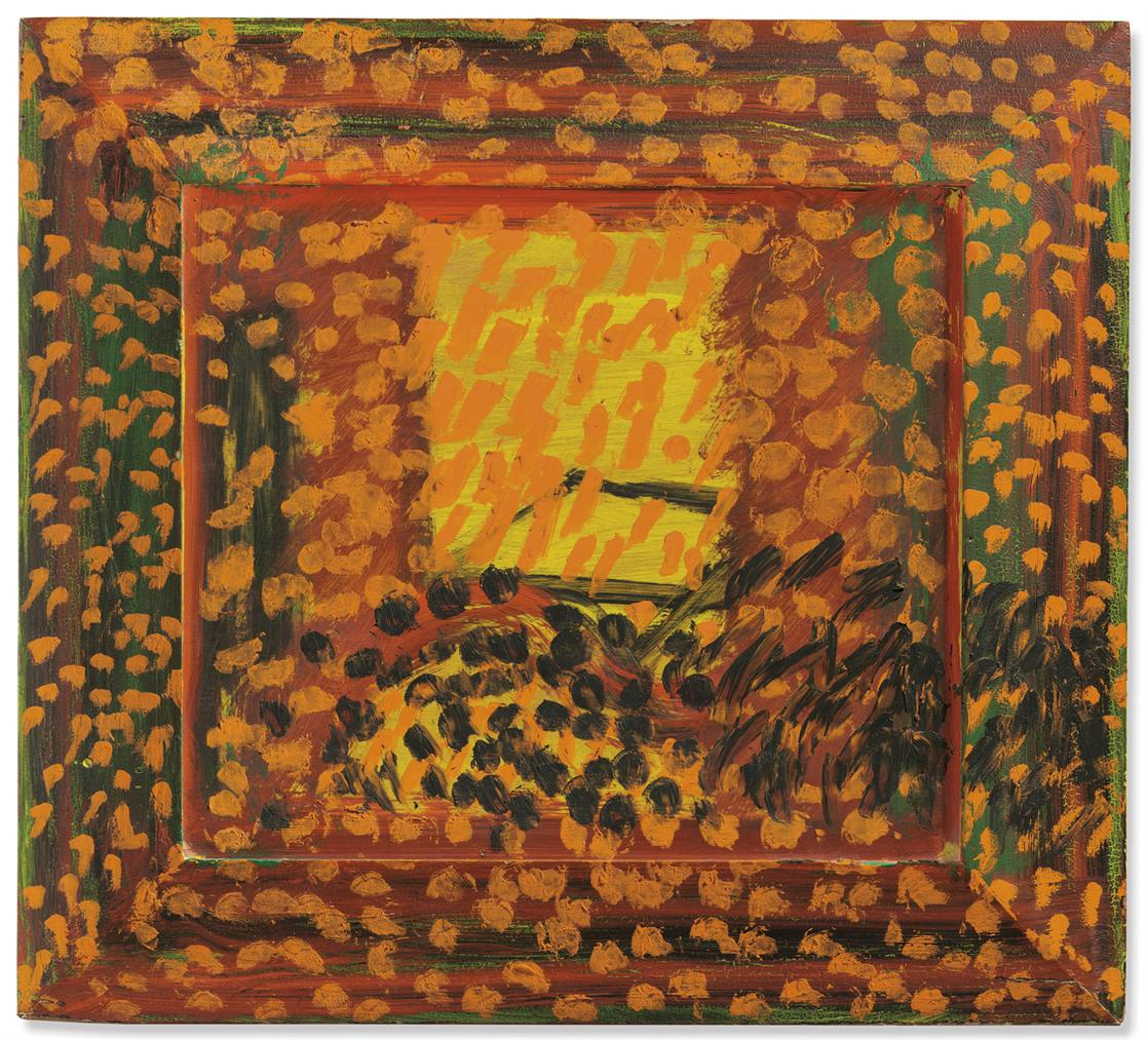 Howard Hodgkin-Mirzas Room-1996