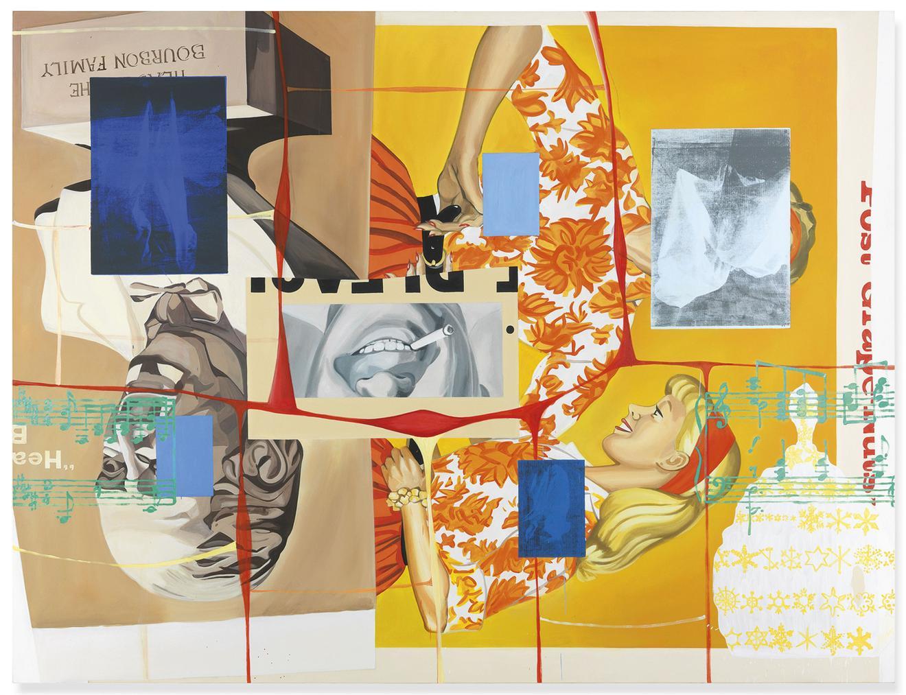 David Salle-Bigger Rack-1998