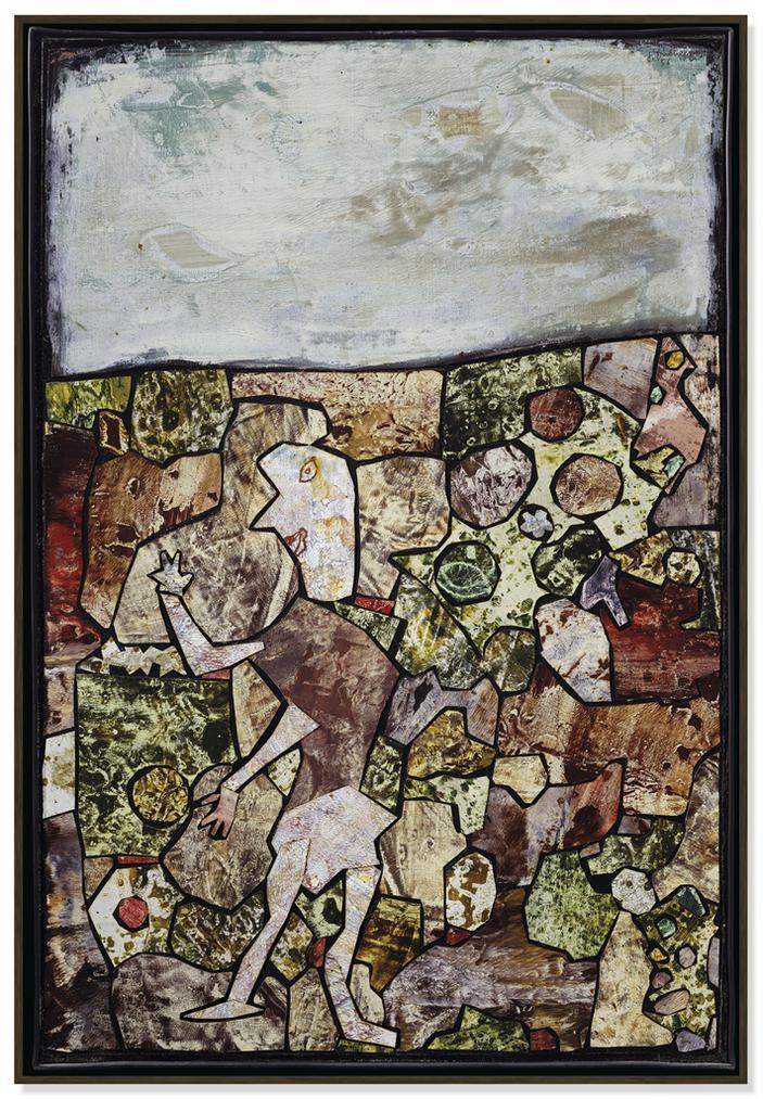 Jean Dubuffet-Clartes Alentour (Surrounding Clarity)-1956