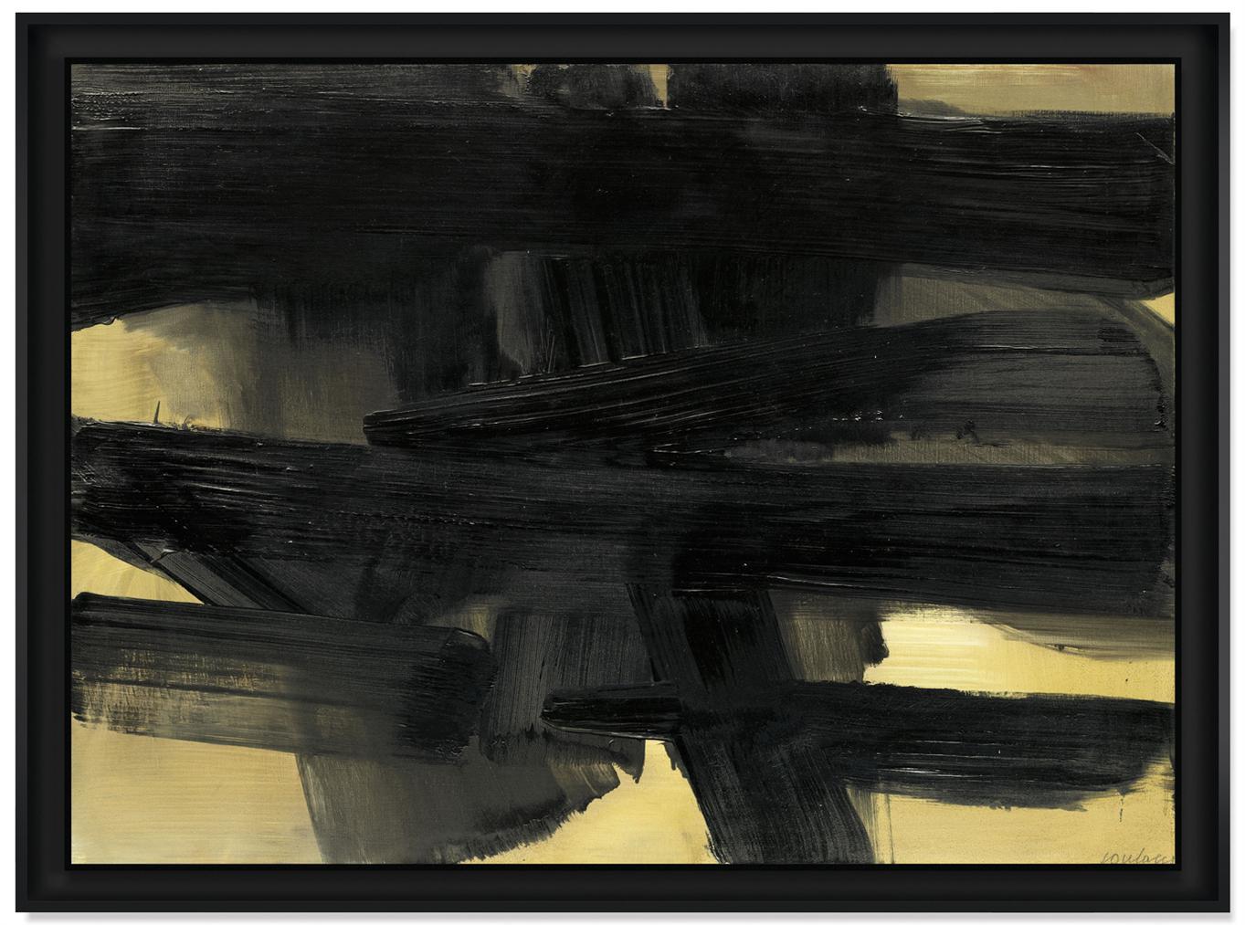 Pierre Soulages-Peinture, 73 X 100Cm 17 Mai 1964-1964