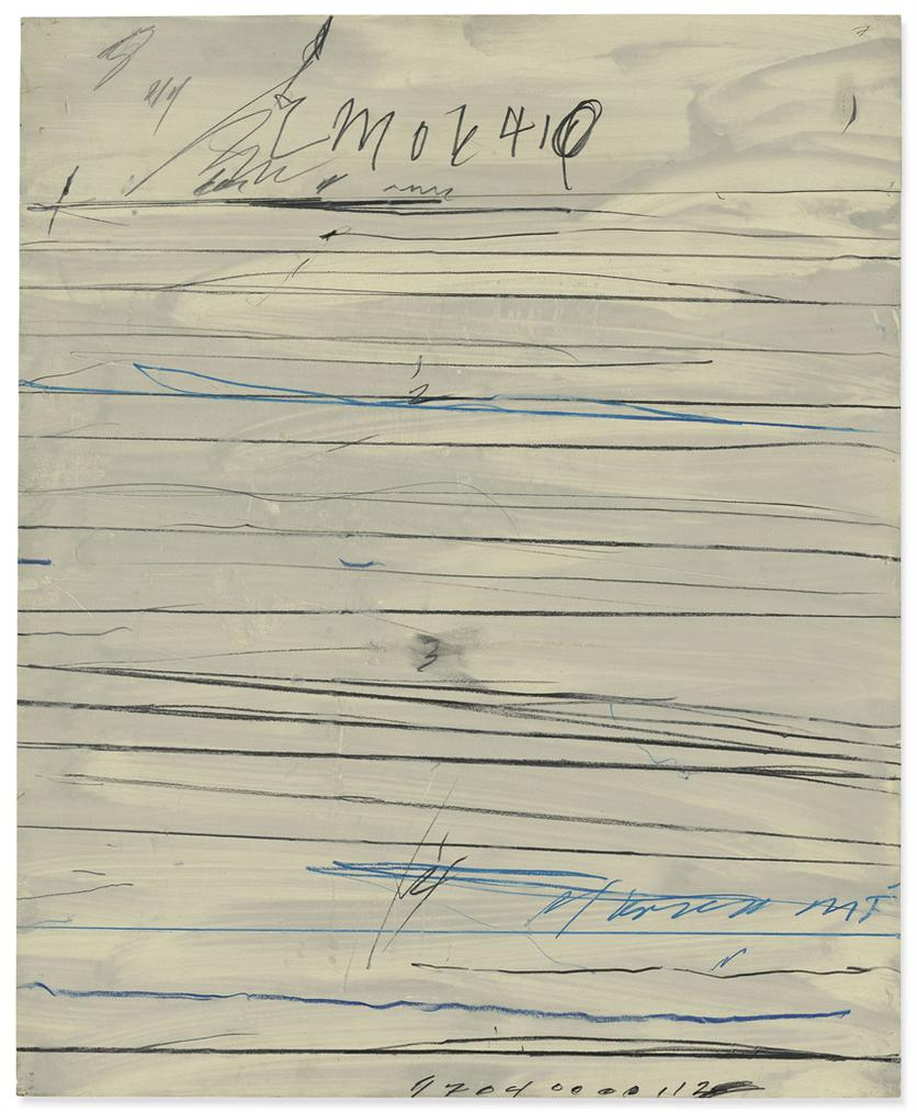 Cy Twombly-Untitled (Ramifications)-1971