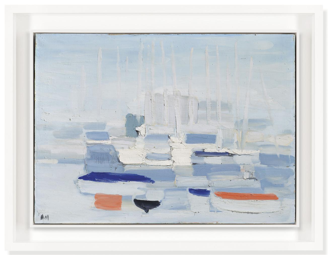 Nicolas de Stael-Barques Dans Le Port (Boats In The Harbour)-1955