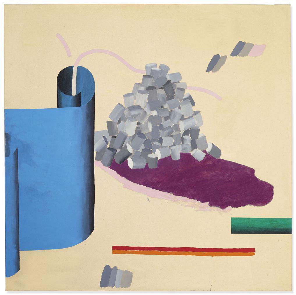 David Hockney-A Realistic Still Life-1965