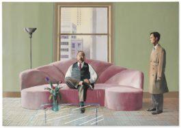 David Hockney-Henry Geldzahler And Christopher Scott-1969