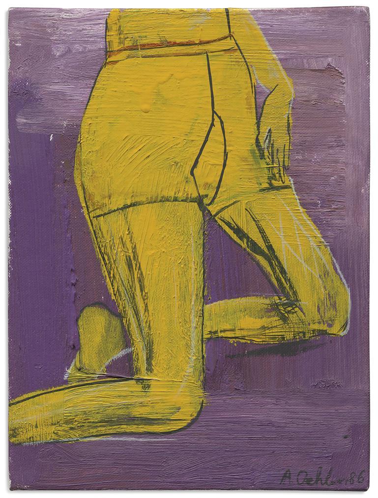 Albert Oehlen-Woman Nr. 1-1986