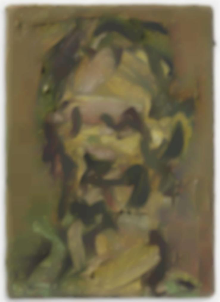 Frank Auerbach-Head Of Jake II-2012