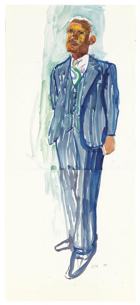David Hockney-Dr. Leon Banks-1979