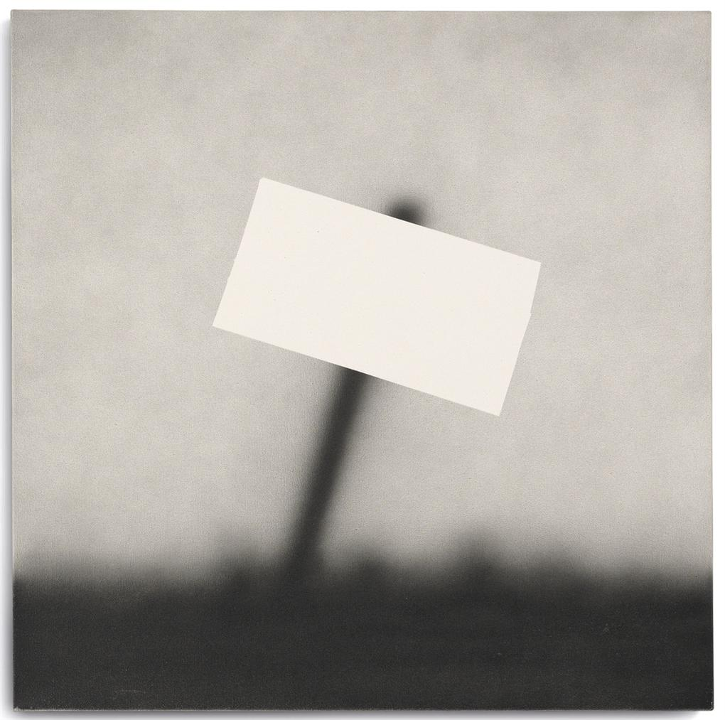 Ed Ruscha-Old Sign-1989