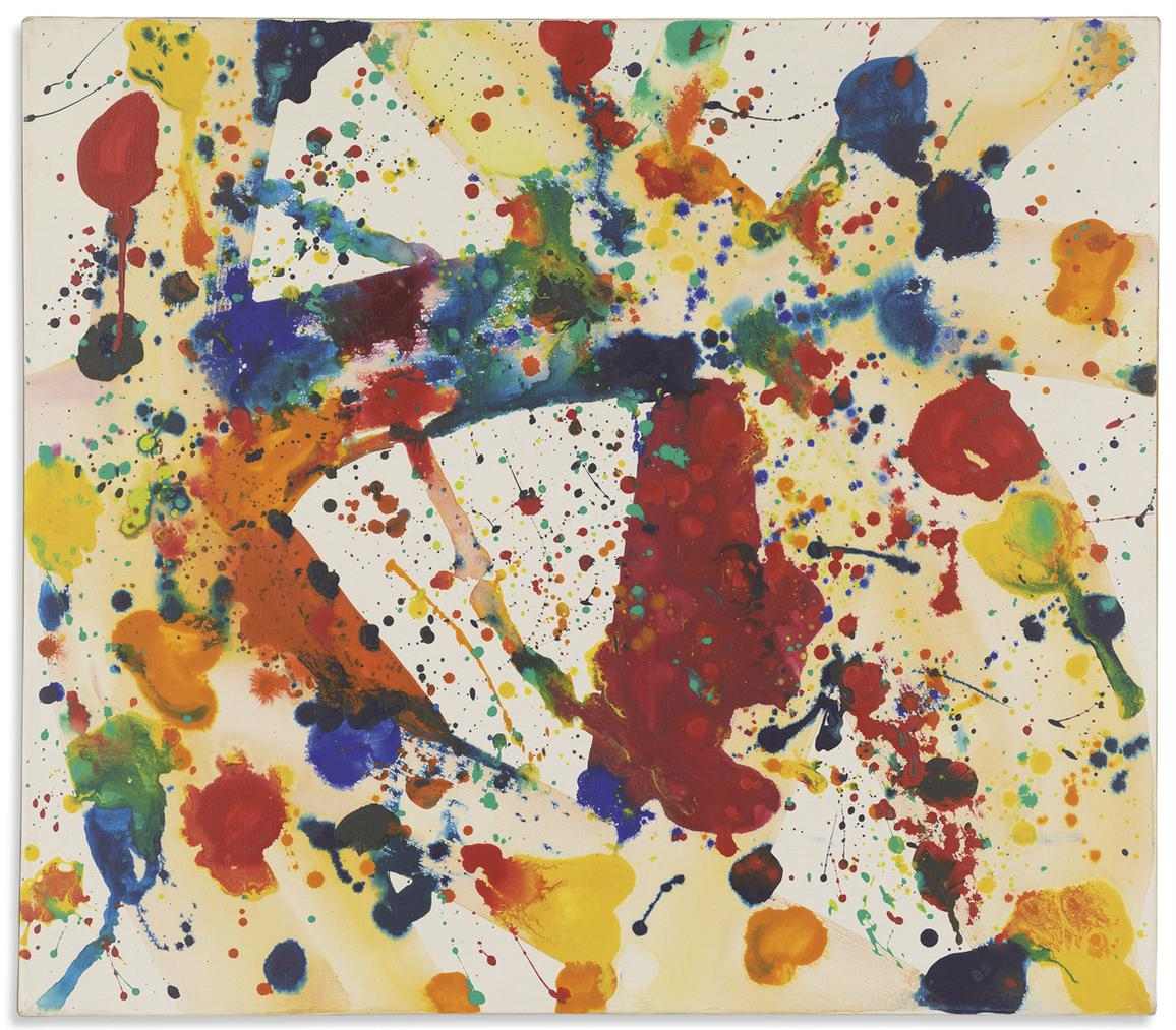 Sam Francis-Yellow Beam-1973