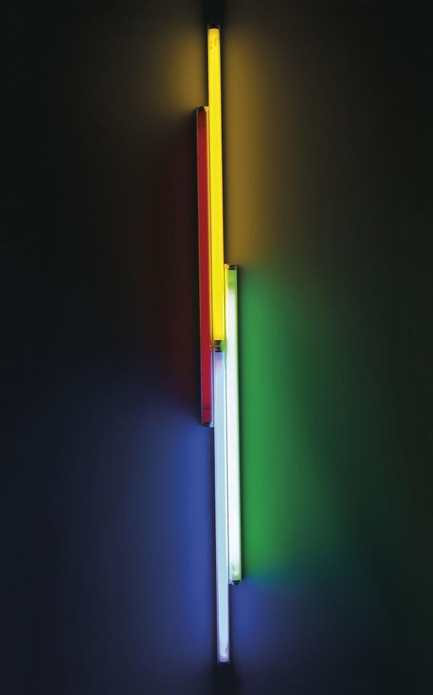 Dan Flavin-Untitled (To Veronique)-1987